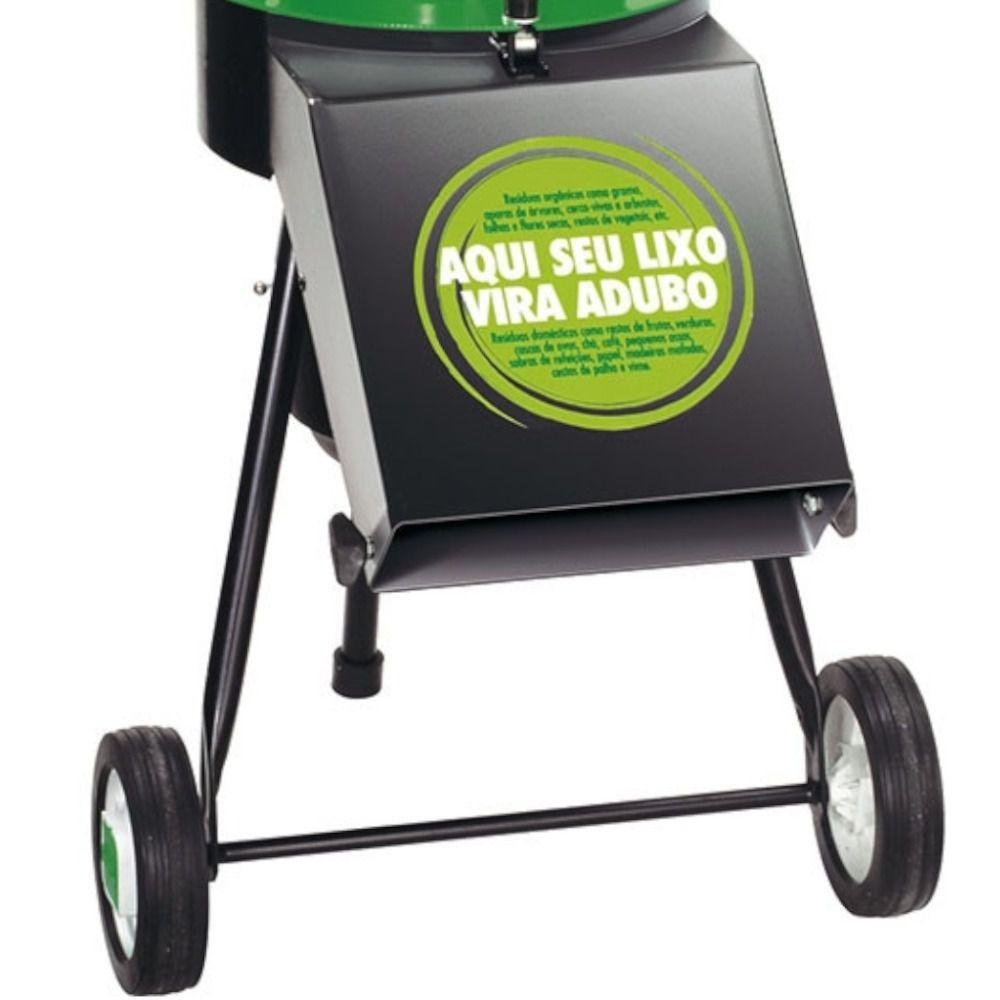 Triturador de resíduos orgânicos elétrico monofásico 1,5 CV TR-200 - Trapp