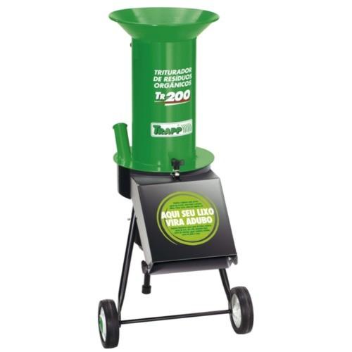 Triturador de resíduos orgânicos elétrico motor de 1,5 cv - TR-200 110V/220V