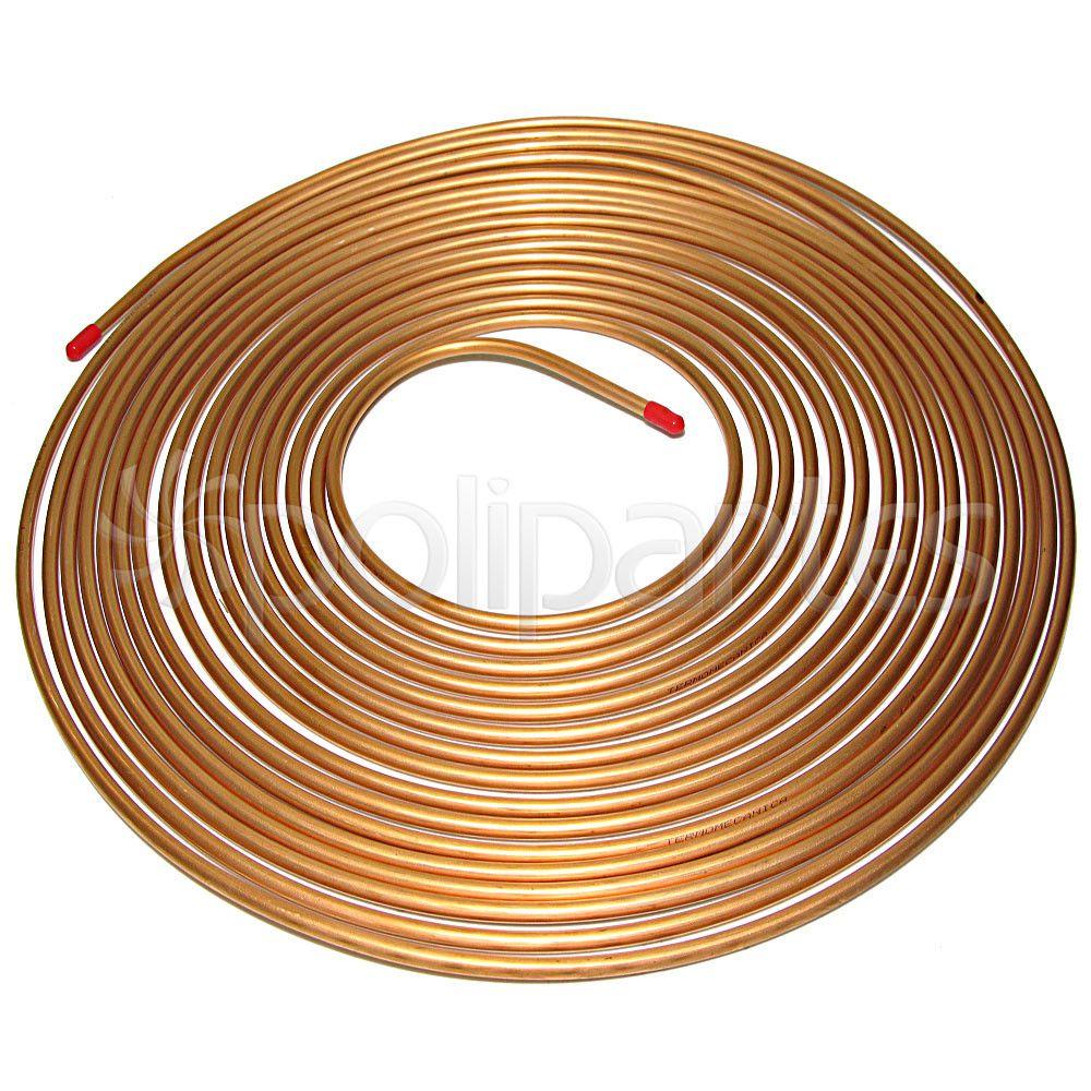 Tubo de Cobre Flexível 1/4 - 1 metro