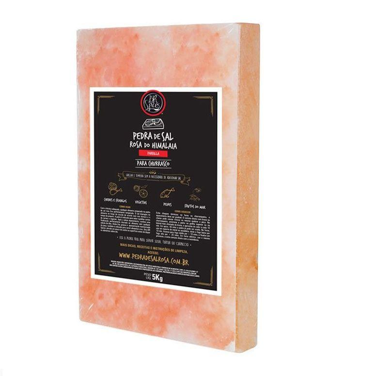 BR Spices - Pedra de Sal Rosa - 20x30cm 5kg