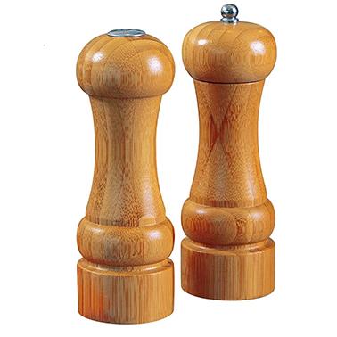 Conjunto MOR Moedor Pimenta e Saleiro Bamboo