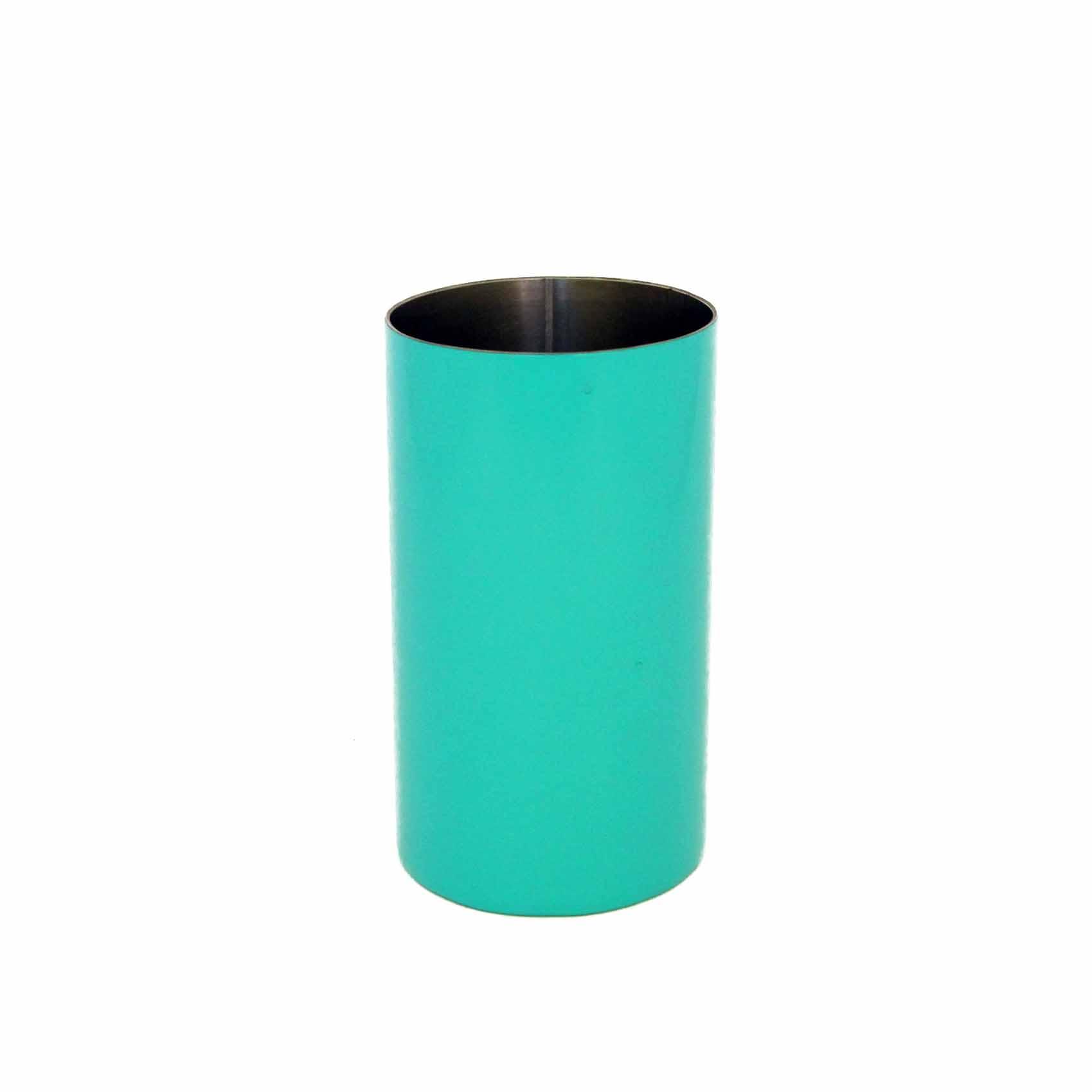 Copo Inox para Tereré Redondo - Azul Tifane