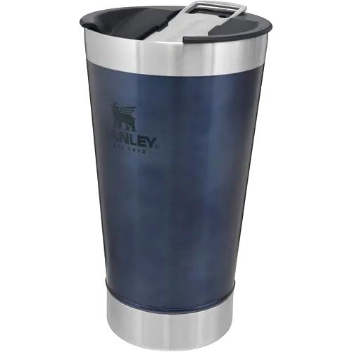Copo Térmico Stanley - com tampa/abridor - 475ml - Azul Escuro