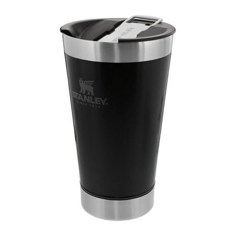 Copo Térmico Stanley - com tampa/abridor - 475ml - Preto