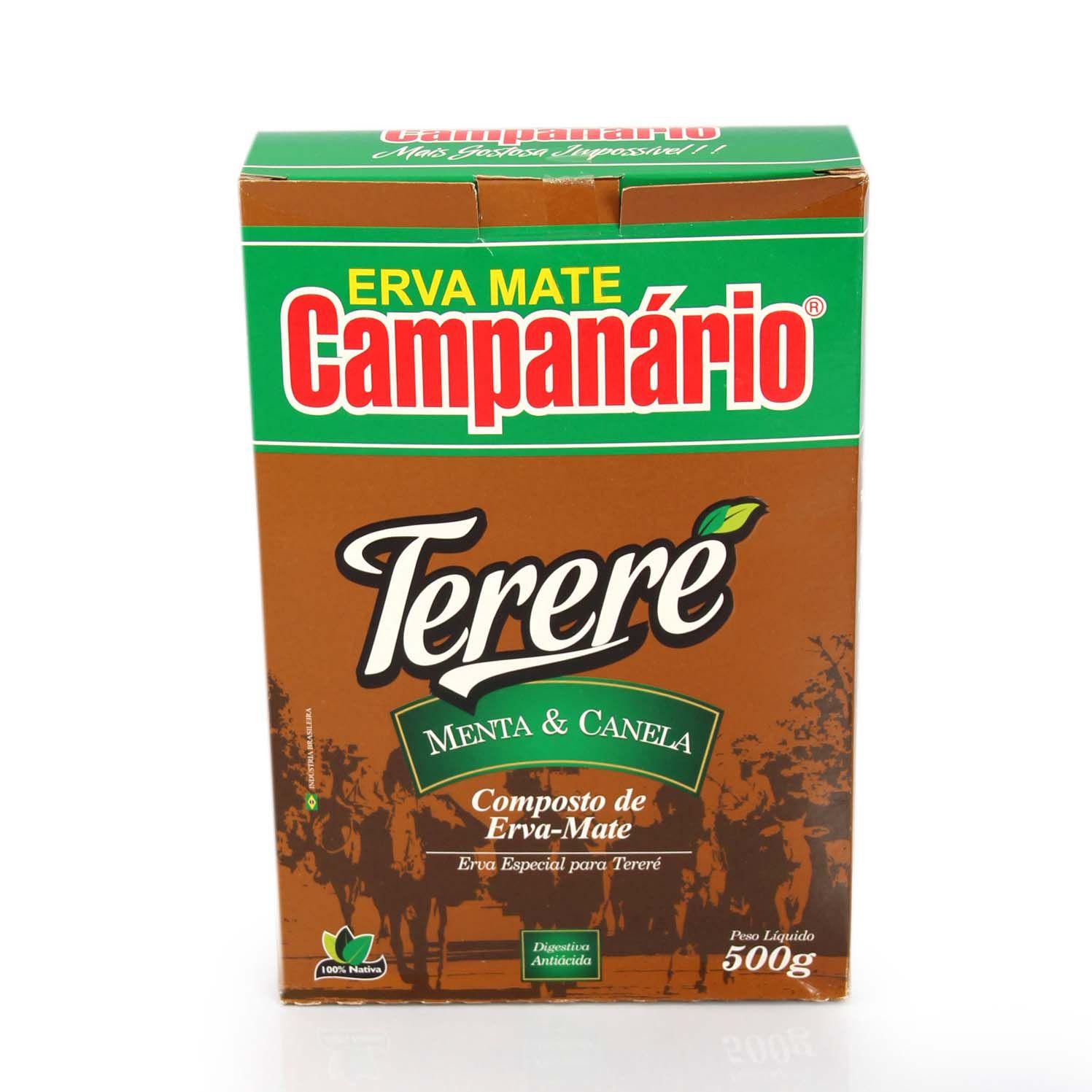 Erva Mate Campanário Menta e Canela 500gr