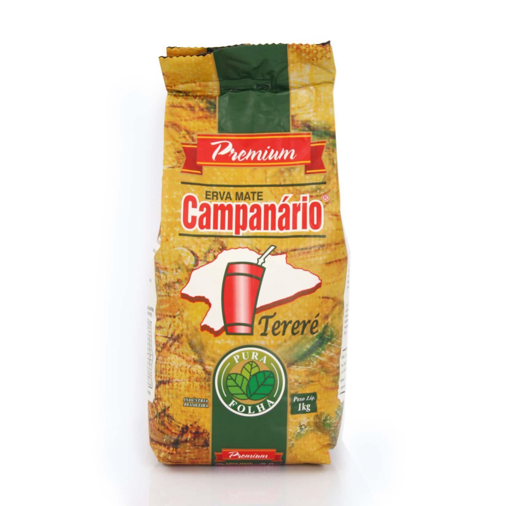 Erva Mate Campanário Pura Folha Premium 1kg