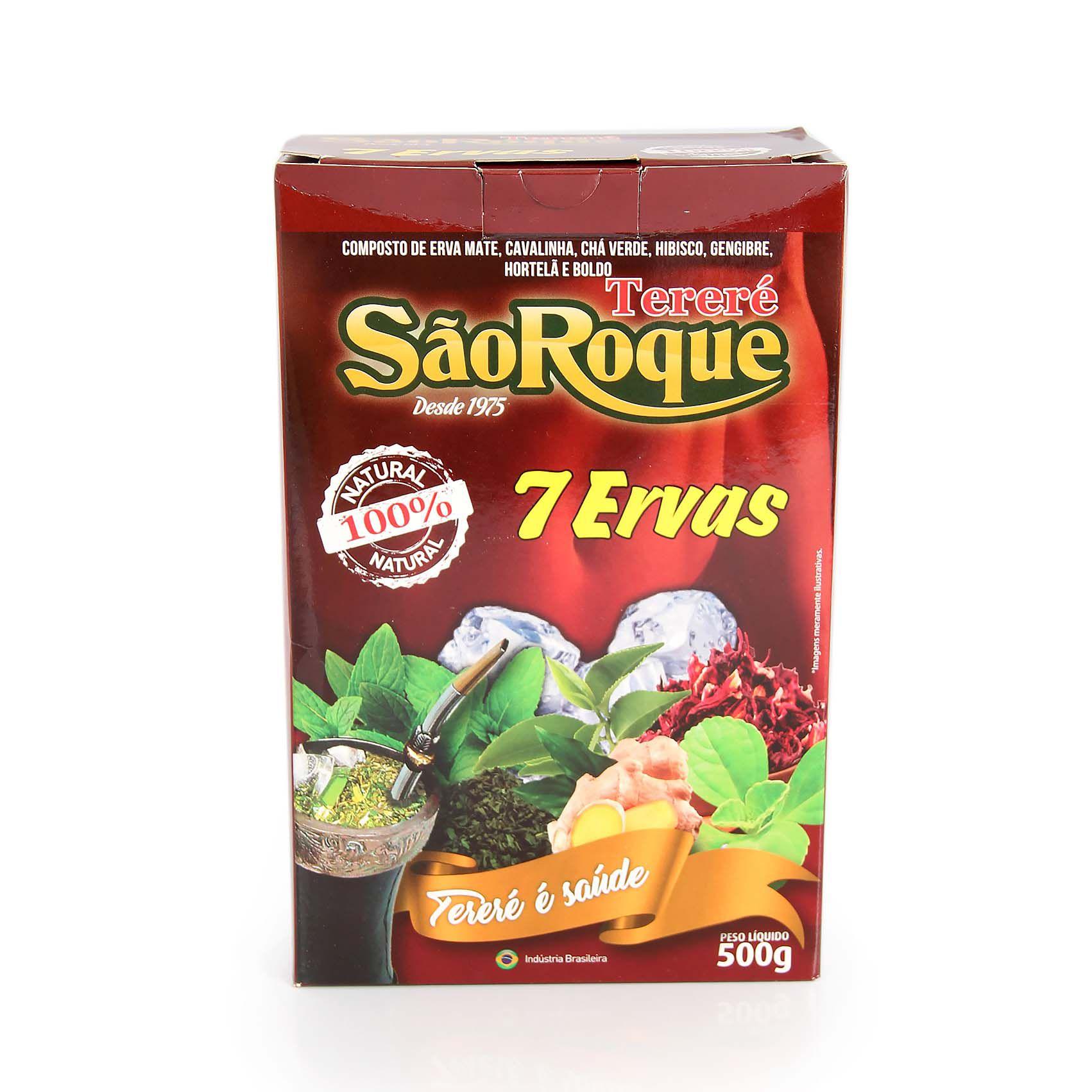 Erva Mate São Roque  7 ERVAS 500gr