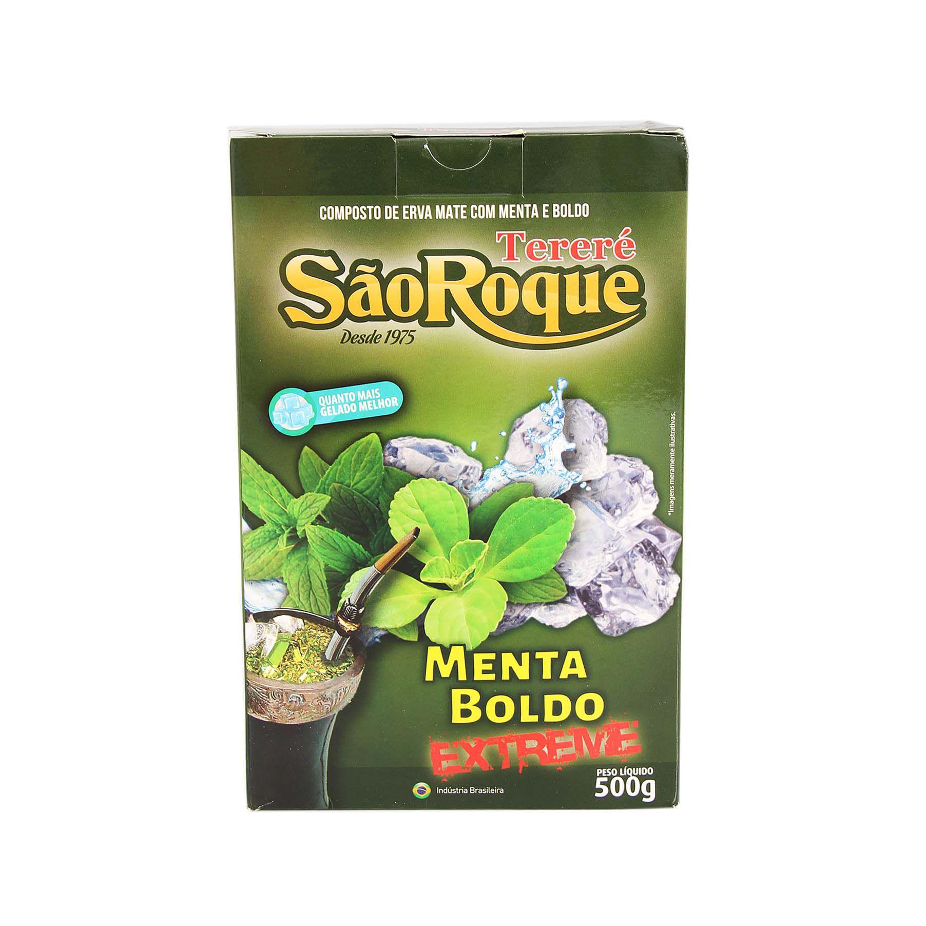 Erva Mate São Roque Boldo 500gr