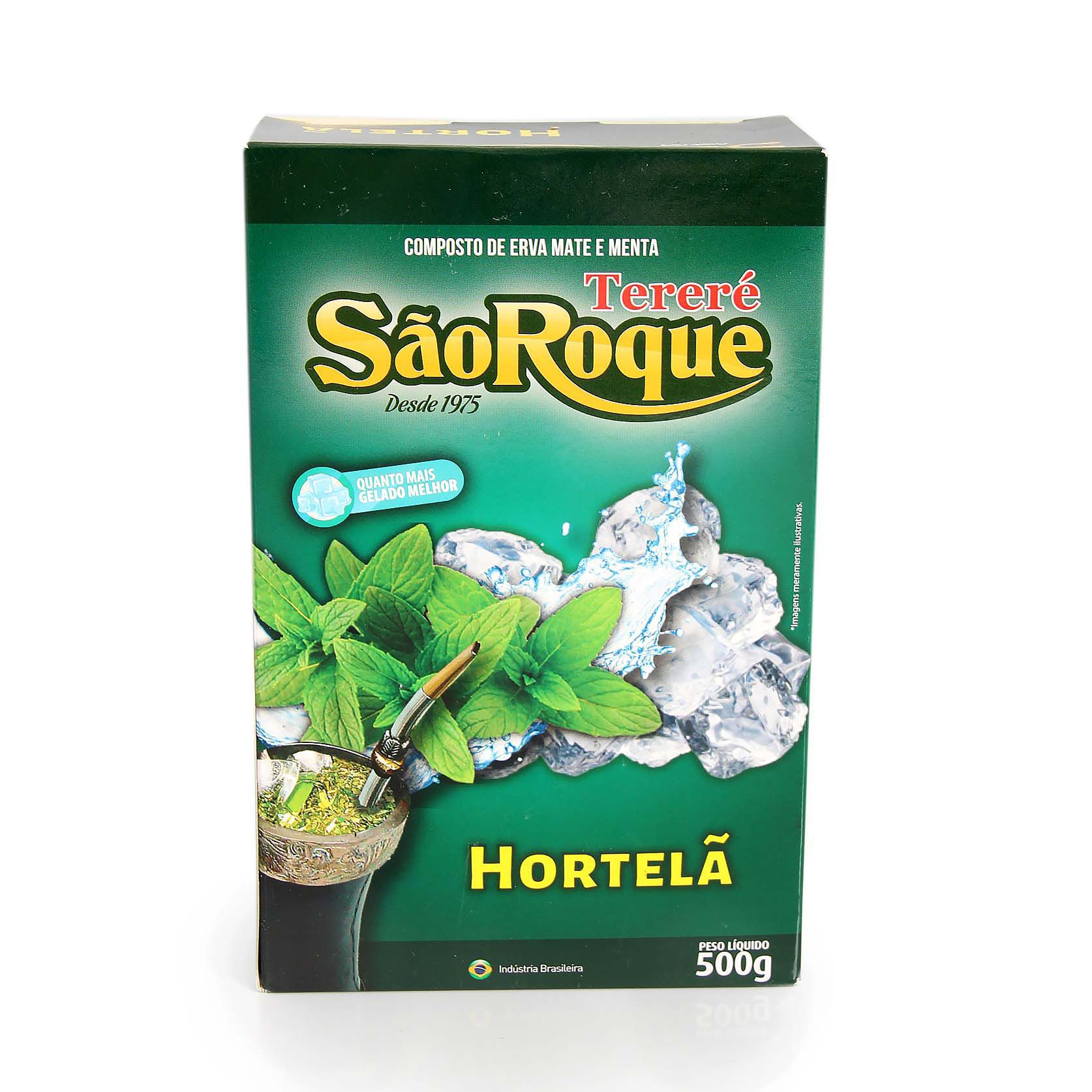Erva Mate São Roque Hortelã