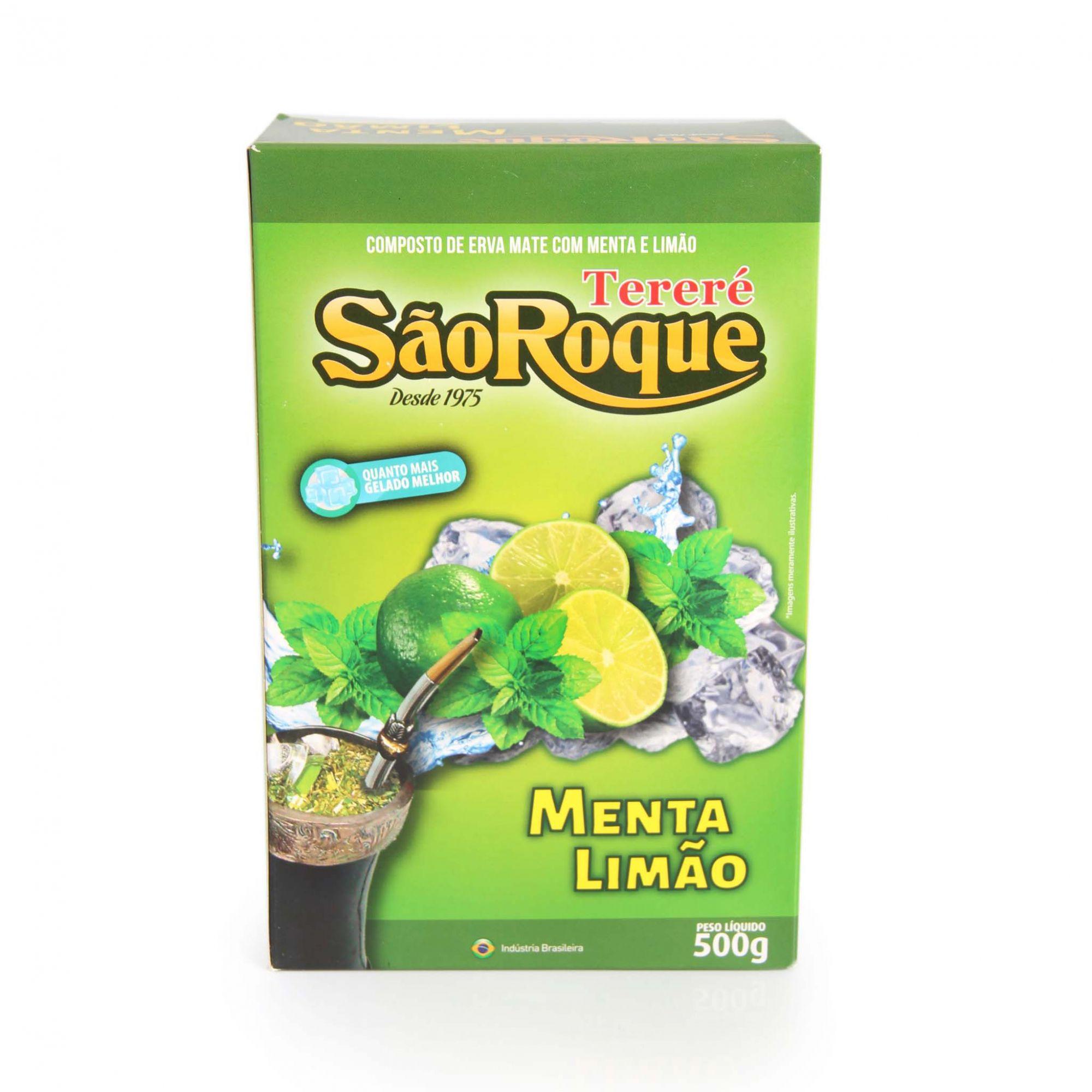 Erva Mate São Roque MENTA/LIMÃO