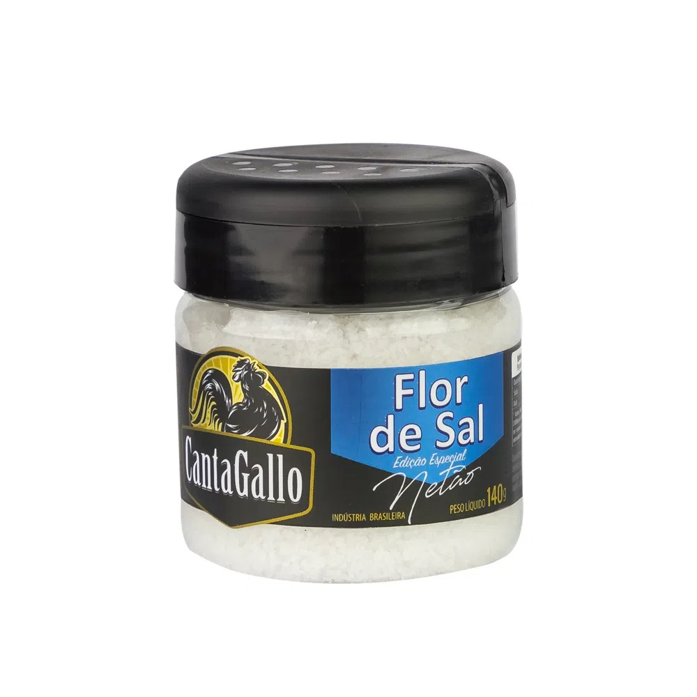 Flor de Sal Netão Canta Gallo 140g