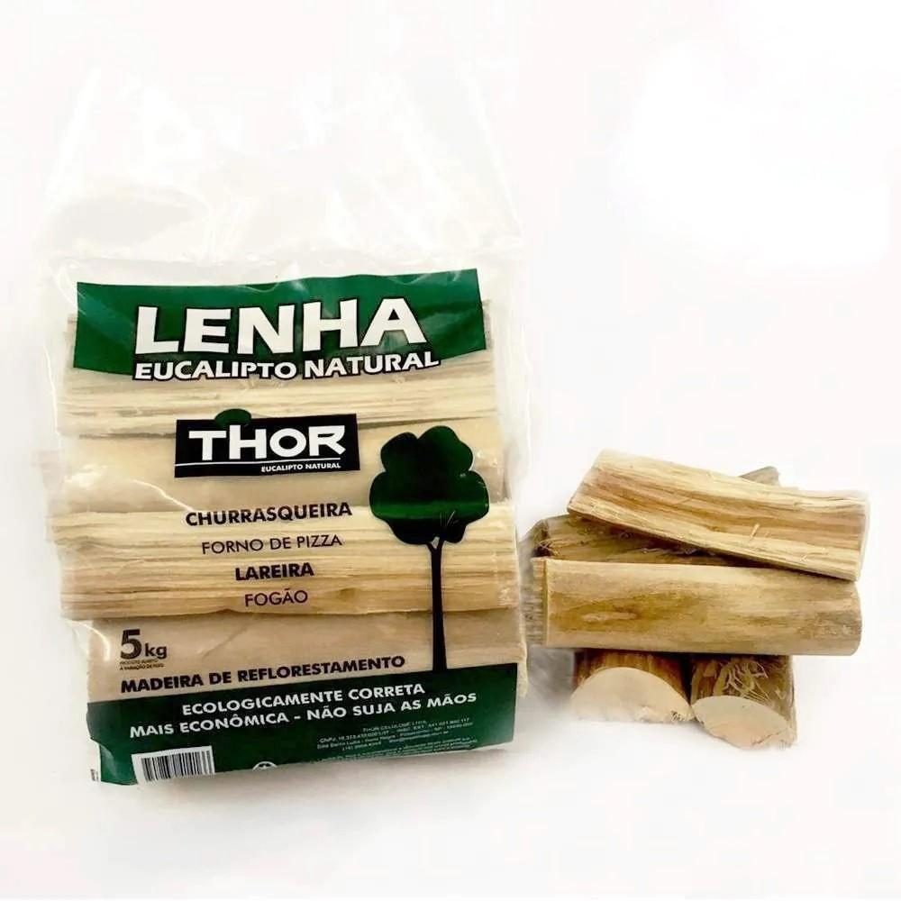 Lenha de Eucalipto Thor - 5kg