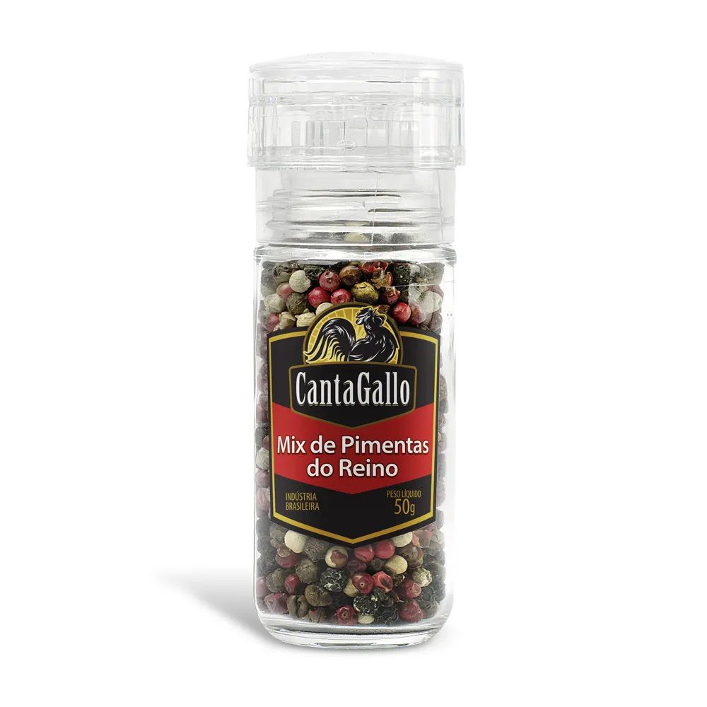 Mix de pimentas c/ moedor - Canta Gallo