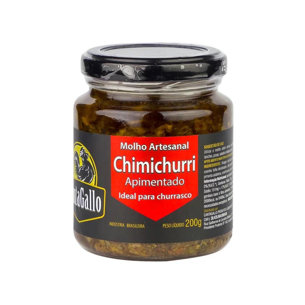 Molho Chimichurri com Pimenta - Canta Gallo 200gr