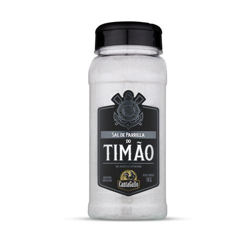 Sal de Parrilla Timão - Corinthians - Canta Gallo 1kg