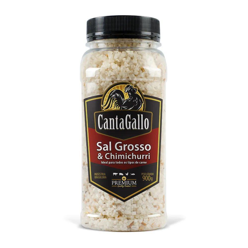 Sal Grosso e Chimichurri 900g - Canta Gallo