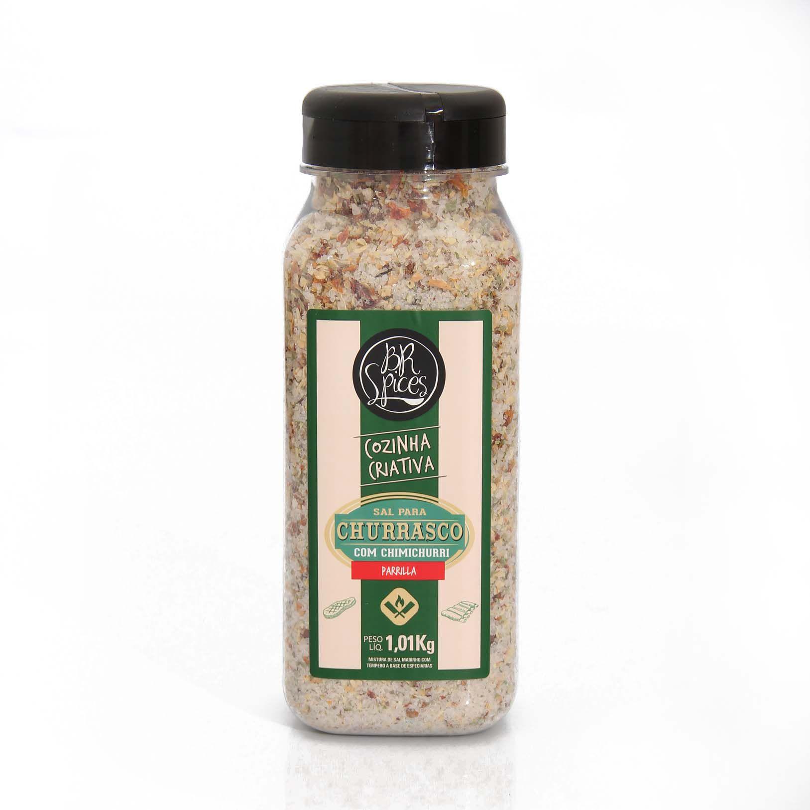 Tempero BR Spices - Sal Churrasco Chimichurri 1kg
