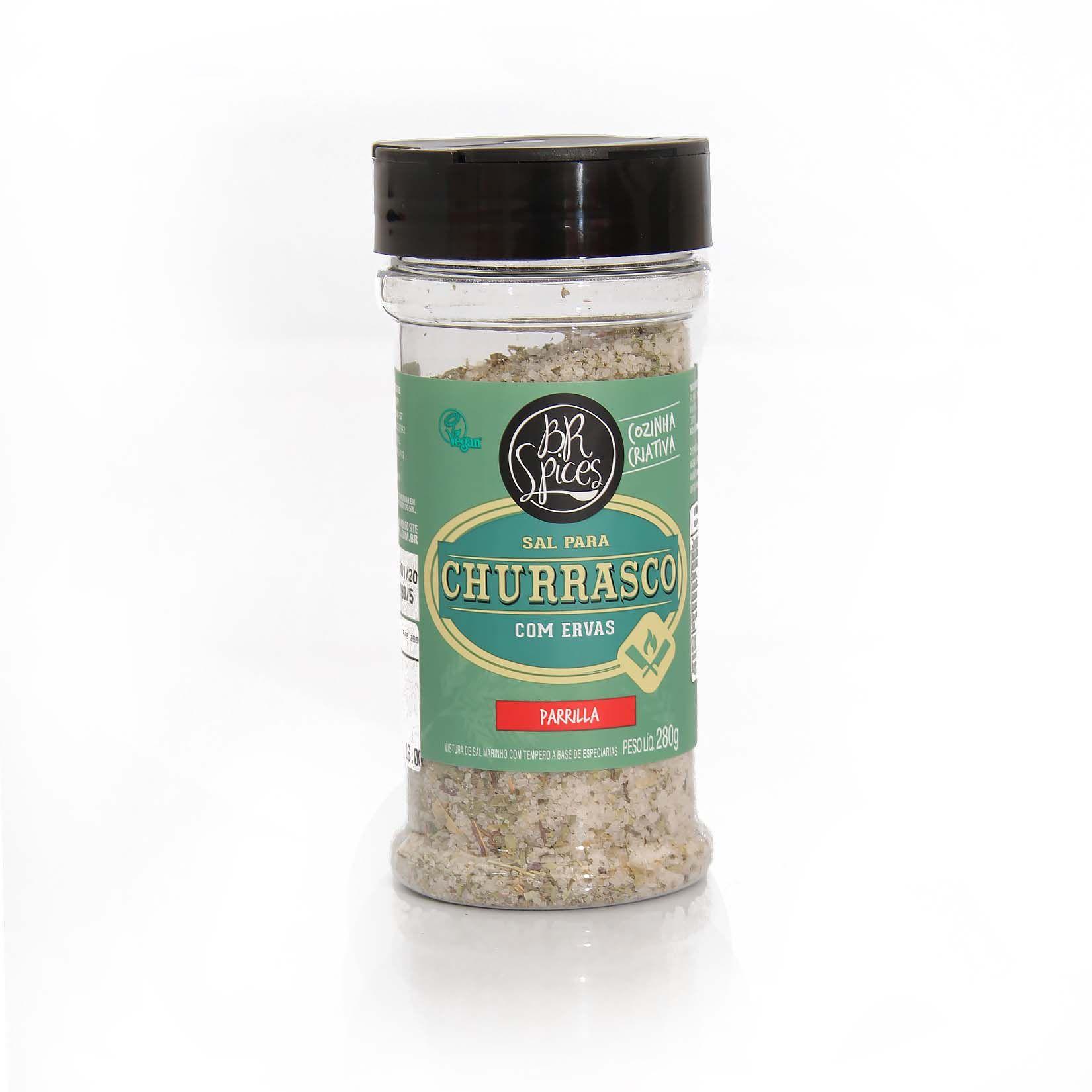 Tempero BR Spices - Sal Churrasco com Ervas 280gr