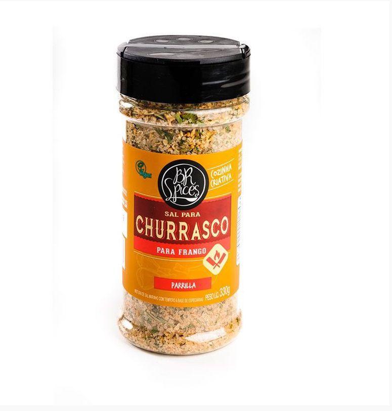 Tempero BR Spices - Sal Churrasco para Frango - 330 gr