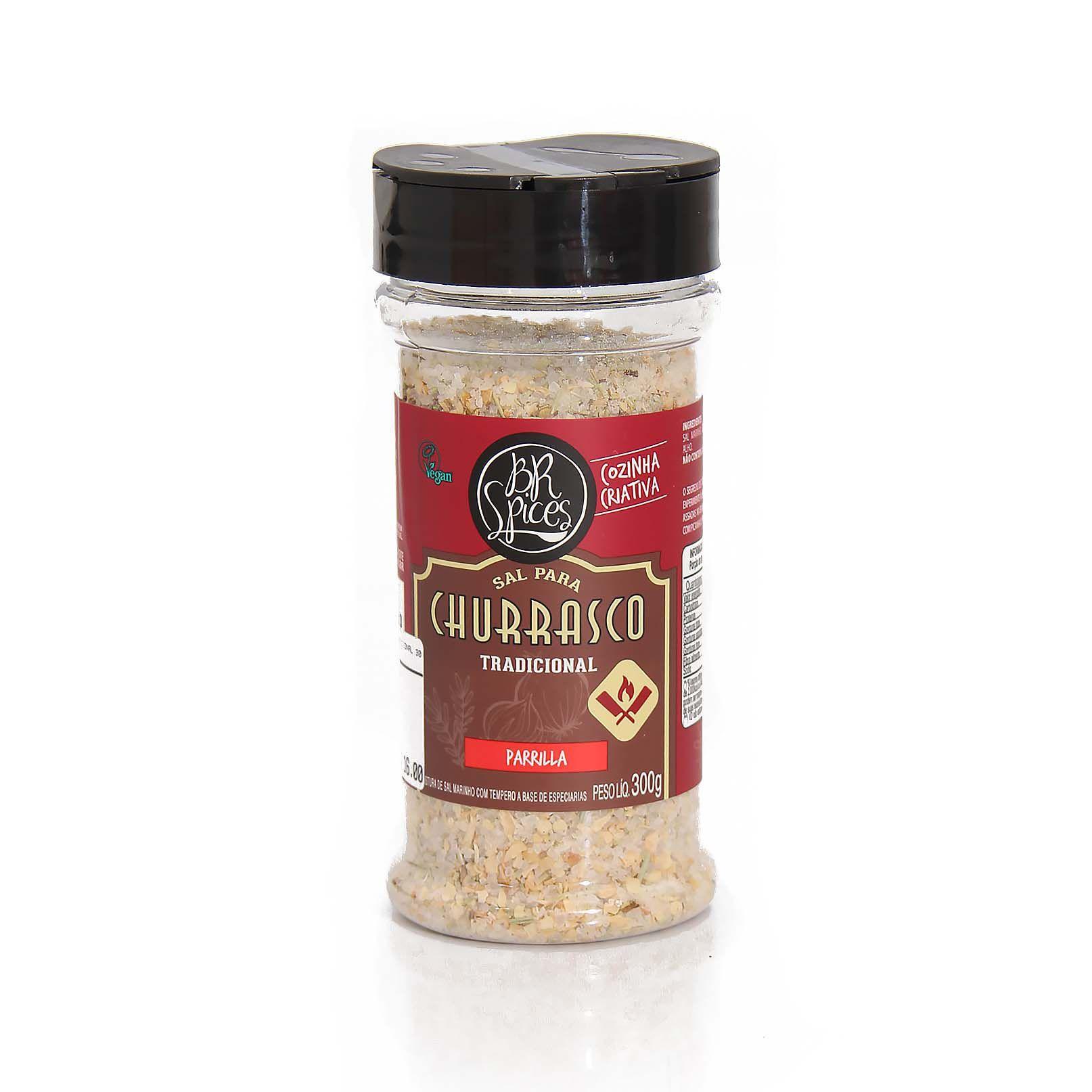 Tempero BR Spices - Sal Churrasco Tradicional 300gr