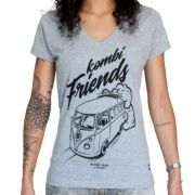 Camiseta Feminina - Kombi Friends | Blend Iron