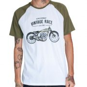 Camiseta Masculina - Vintage Race | Blend Iron