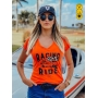 Camiseta Feminina - Racing and Ride | Blend Iron