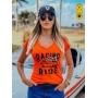 Camiseta Feminina - Racing and Ride   Blend Iron