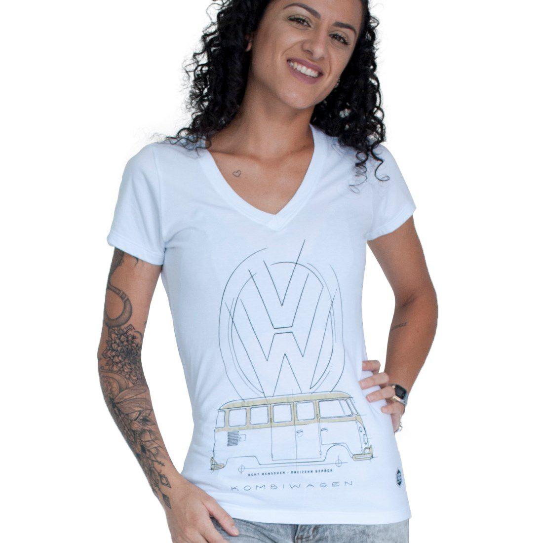 Camiseta Feminina - Kombiwagen | Blend Iron