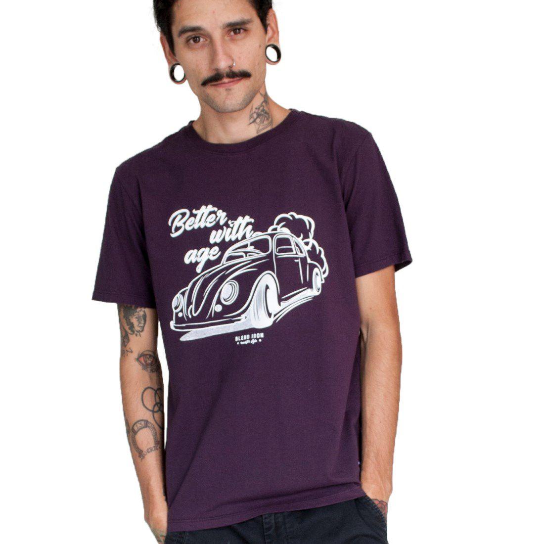 Camiseta Masculina - Fusca Old | Blend Iron