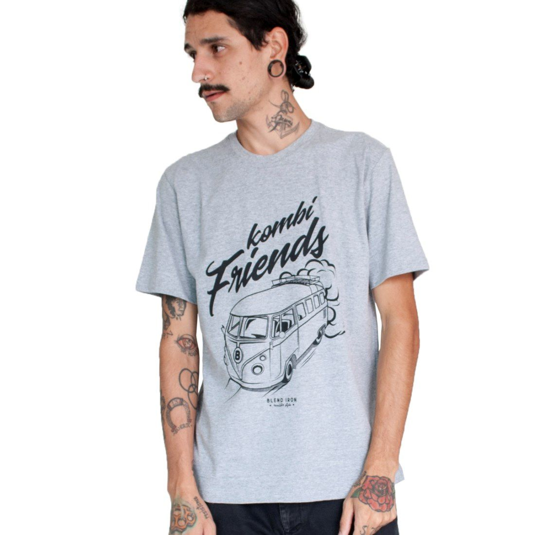 Camiseta Masculina - Kombi Friends