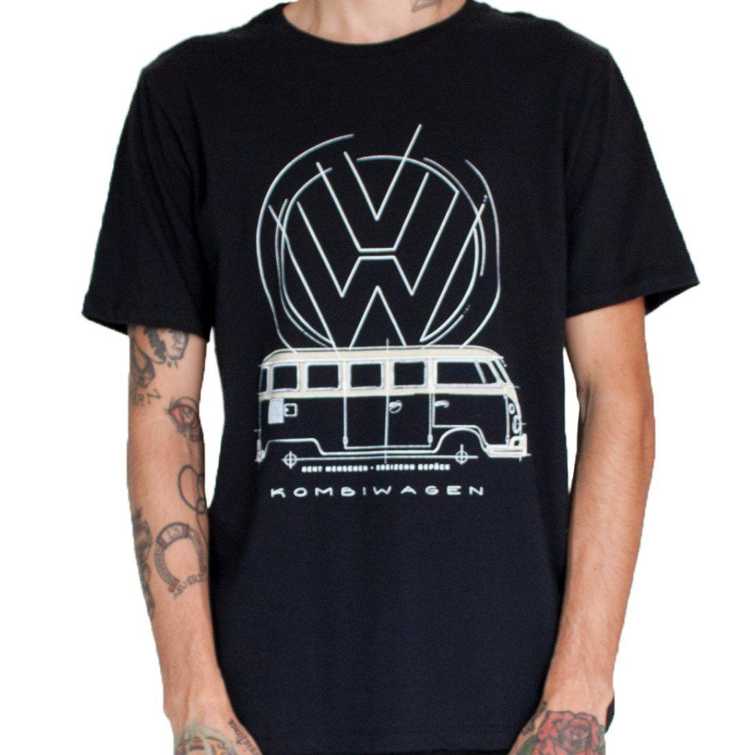 Camiseta Masculina - Kombiwagen