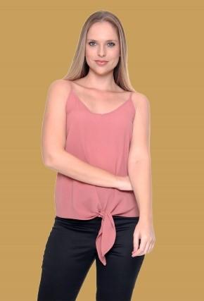 Blusa Alça De Amarrar Lisa