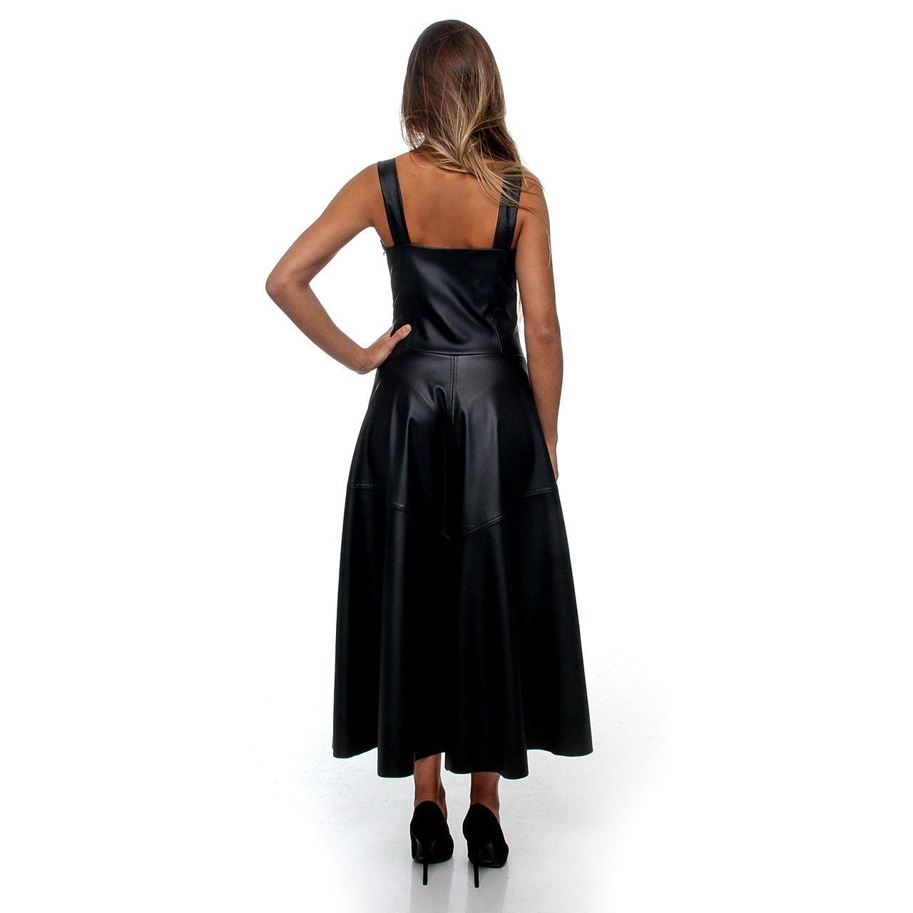 Vestido Couro (pr)