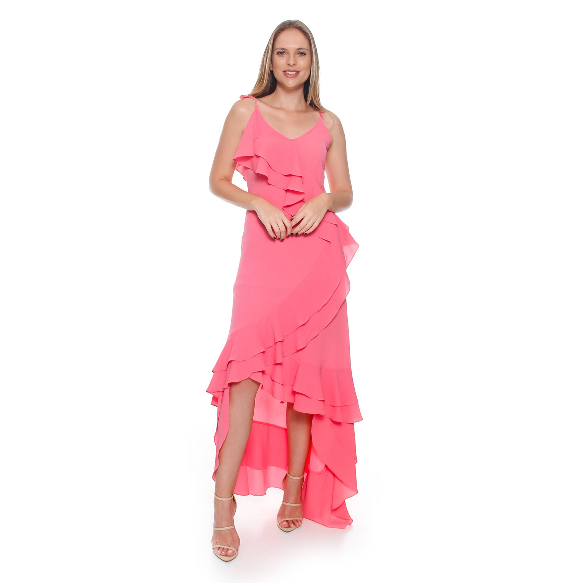Vestido Crepe Buble (pr)