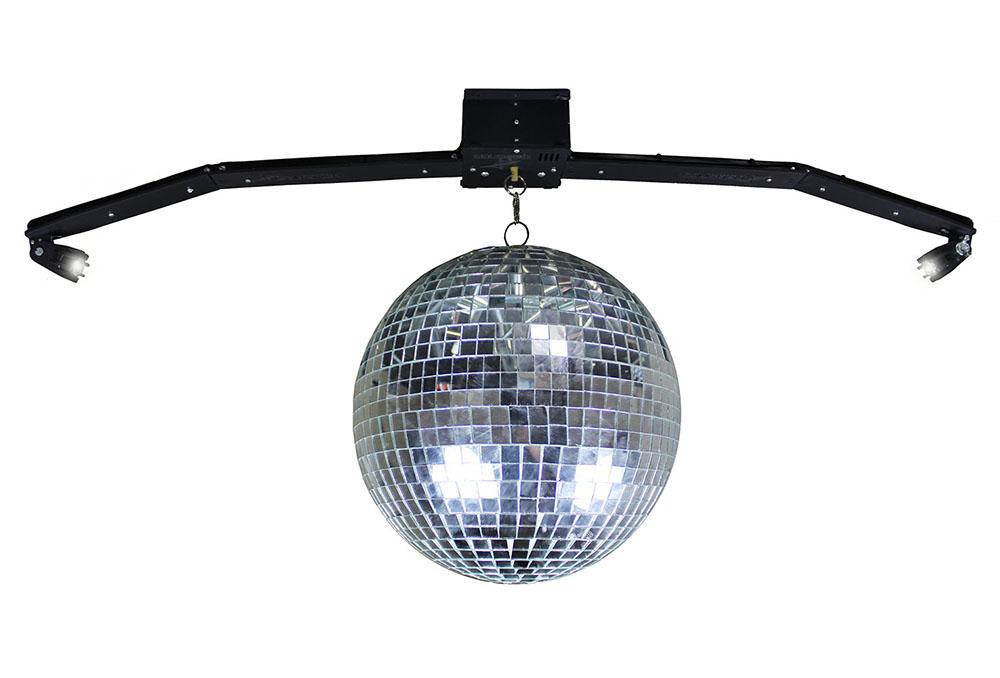 Globo colorido rgb led laser iluminação dj festa balada DJ