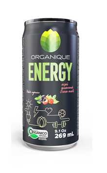 ORGANIQUE ENERGY 269mL