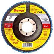 Disco Flap 4 1/2 X 7/8 Grão 50 Fds115-50fc Starret