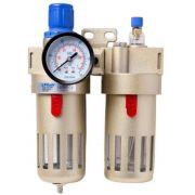 Filtro Ar Com Lubrifil Regulador 1/2- Fluir Befc 4000n
