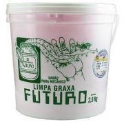 Pasta Sabao Para Lavar Maos Mecanico Graxa Oleo Futuro 2,5kg