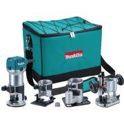 Tupia Manual Kit 6mm 710w Rt0700cx3 Makita 220v