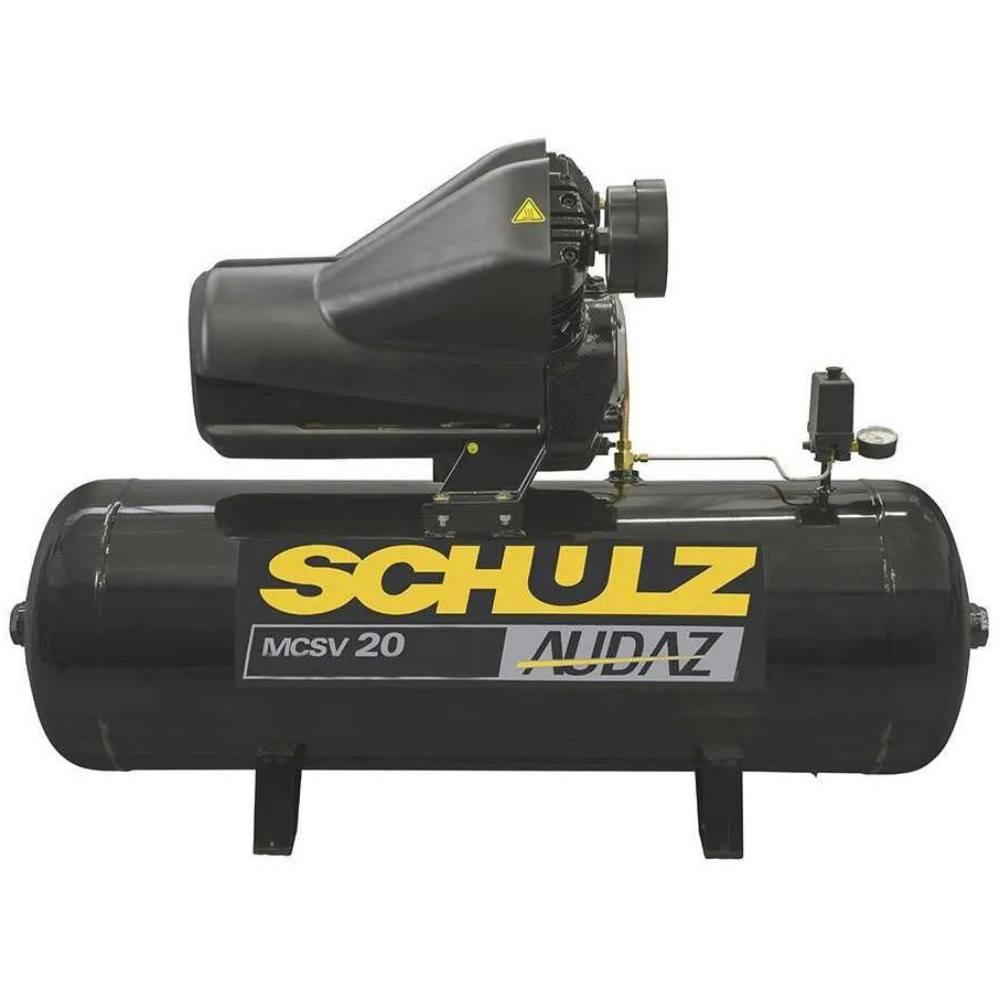 Compressor 20/150 Lts 5 cv 175 Lbs Audaz Mcsv20/150 Schulz