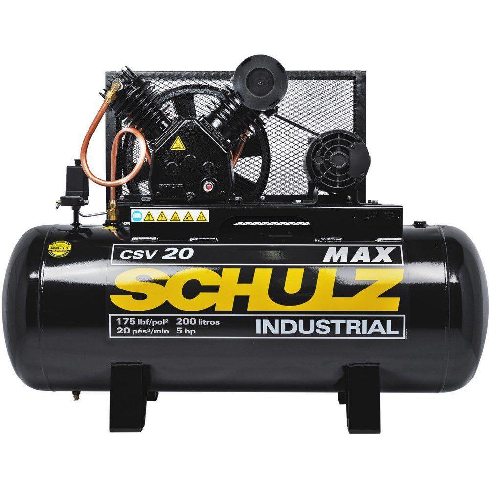 Compressor de Ar CSV 20 MAX / 200 - 220/380V MTA - Schulz