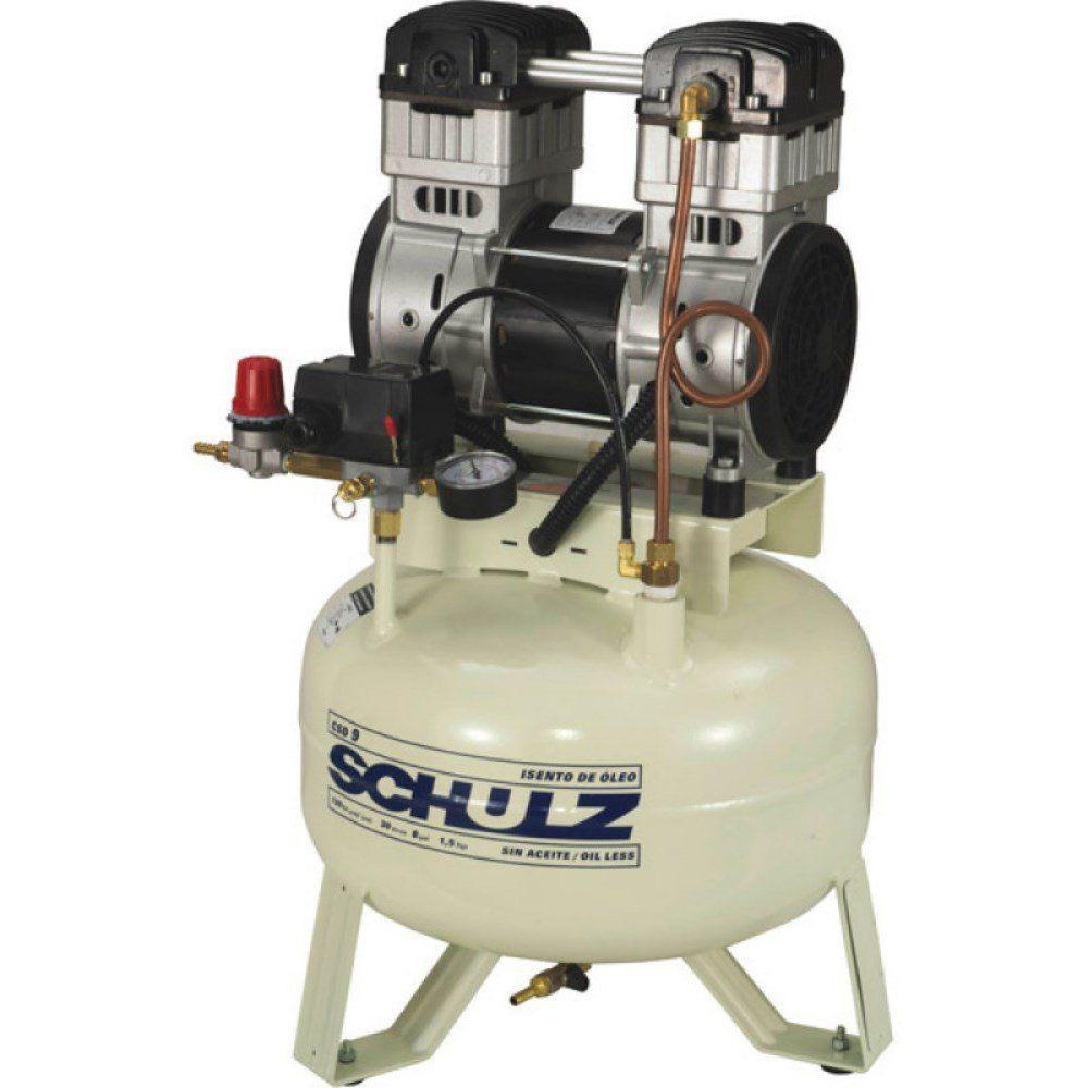 Compressor de Ar Odonto CSD 9 / 30 - 220V - SCHULZ