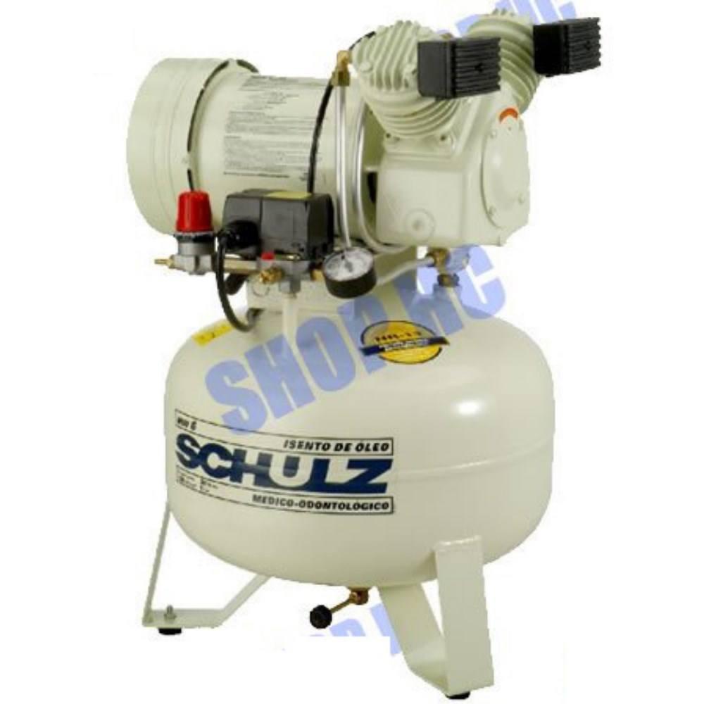 Compressor de Ar Odonto MSV6/30 .220V SCHULZ - Isento de óleo