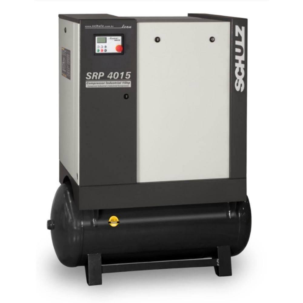 Compressor de Ar Parafuso SRP 4015 LEAN - 220v Trif. / 230 litros