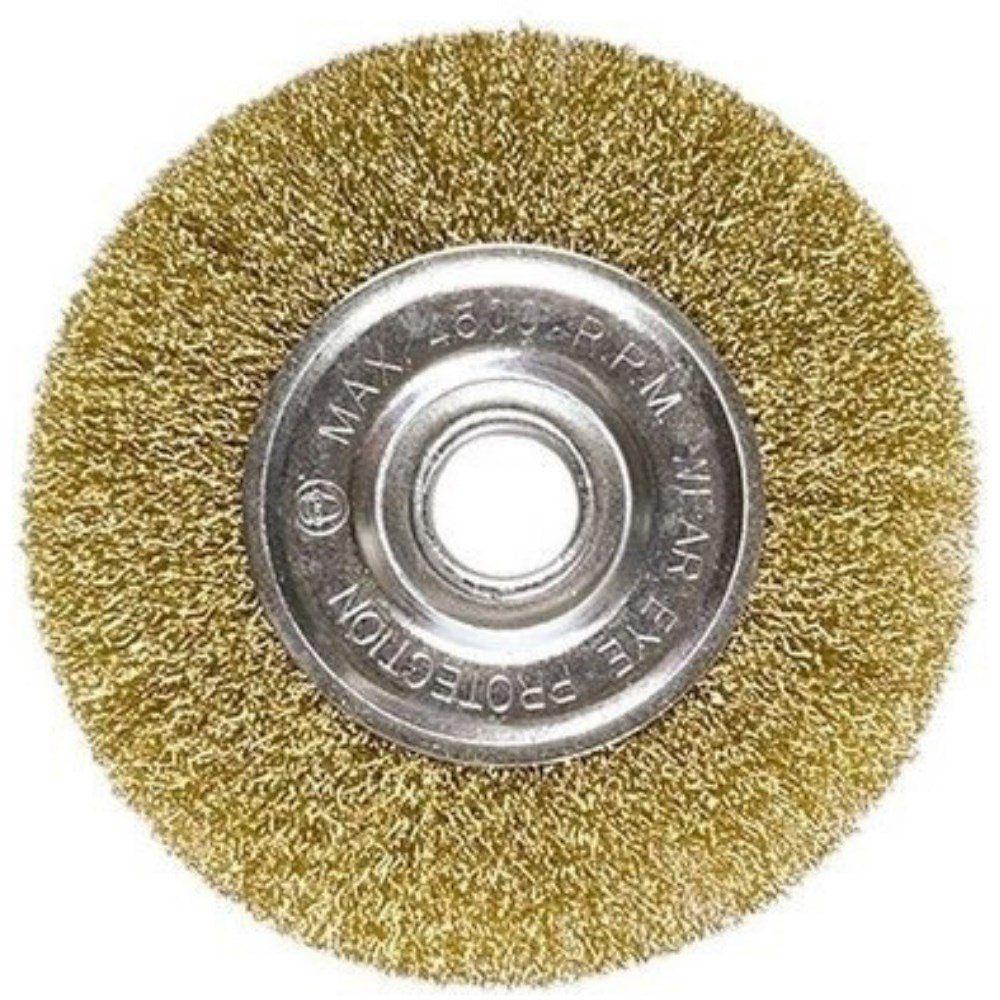 Escova De Aço Car. Circular Ondulada 150mm X 22mm 746649 Mtx