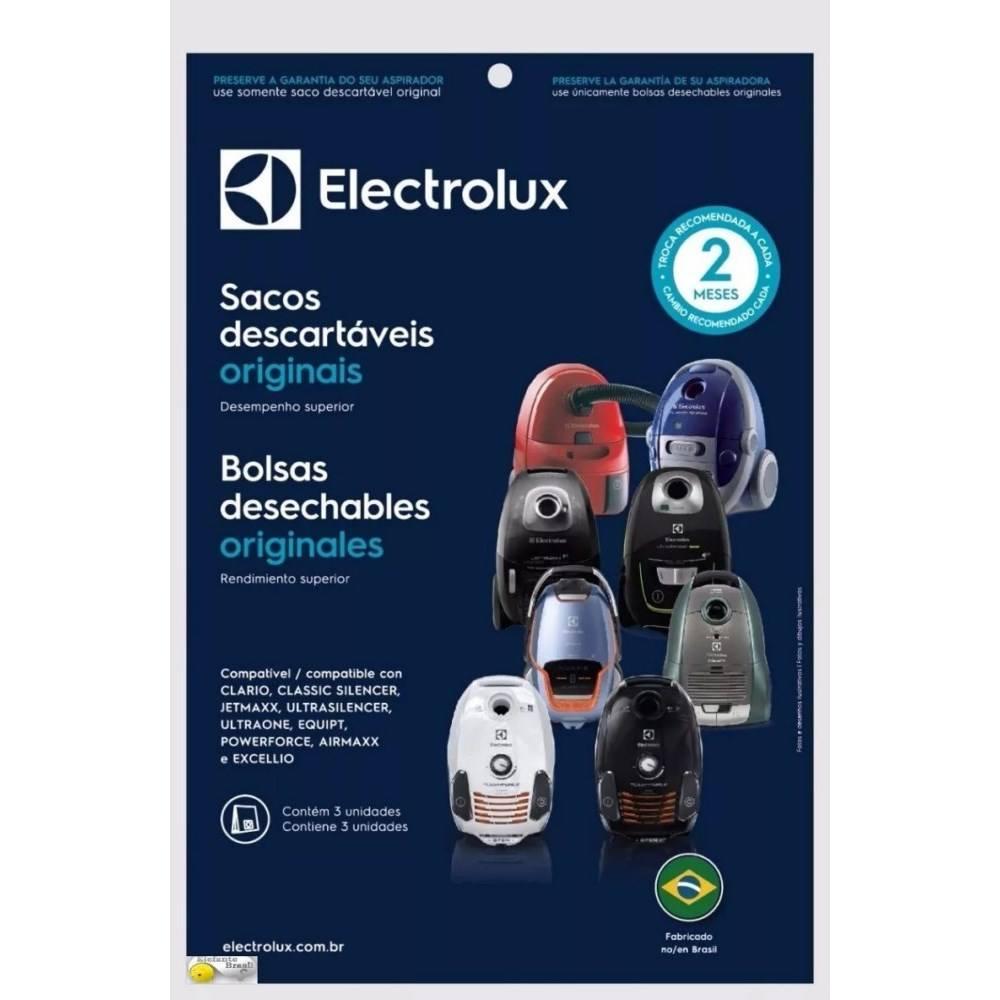 Saco Descart. P/aspirador Electrolux Ultraone Dt30abbr001p