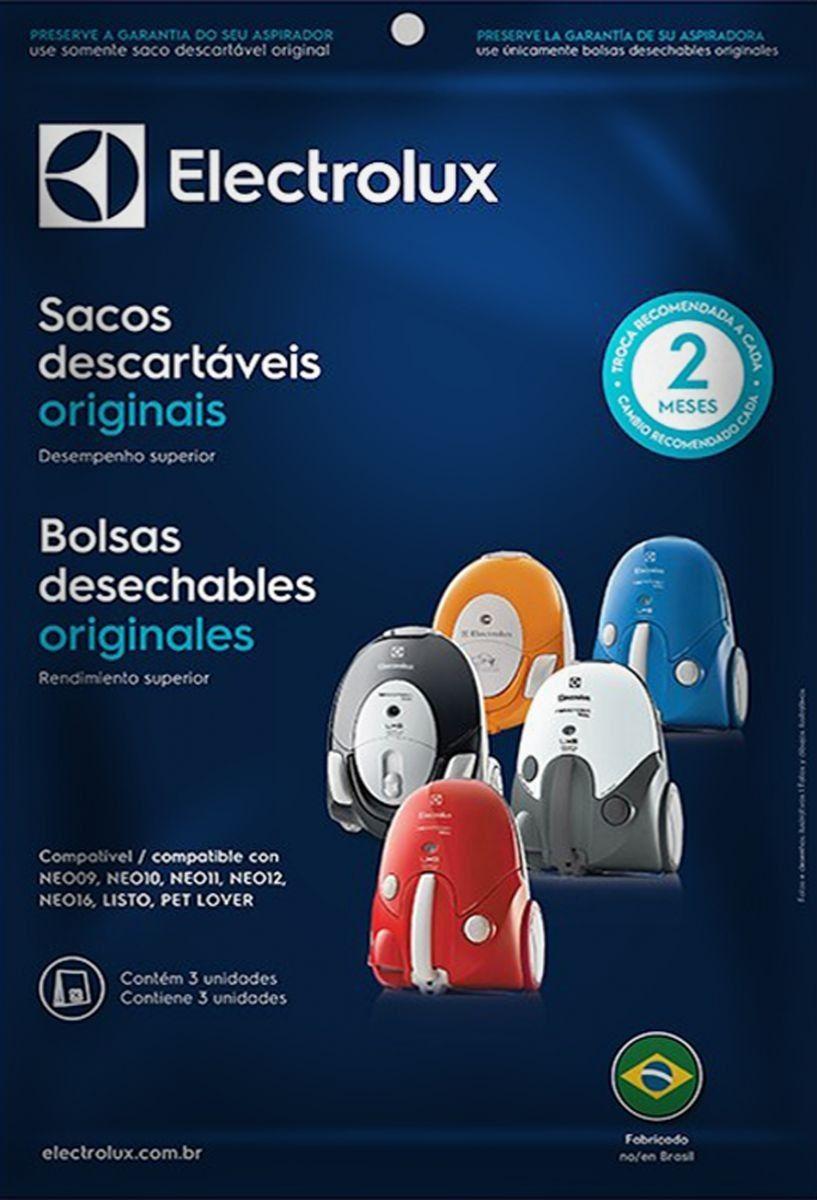 Saco Descartavel Aspirador Electrolux Neo / Listo Original