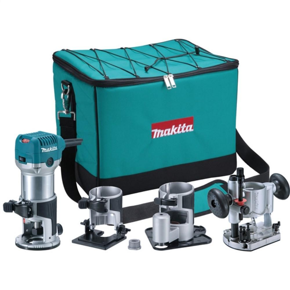 Tupia Manual Kit 6mm 710w Rt0700cx3 Makita 220v